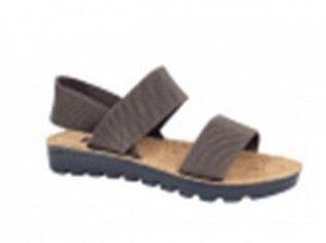 Туфли летние открытые комбинированные