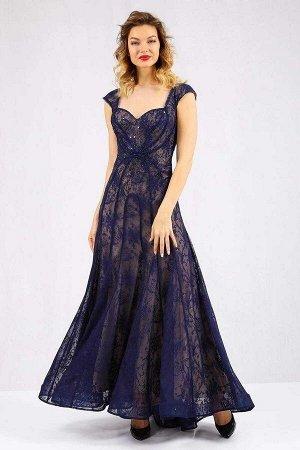 Вечернее платье из кружевного полотна, Платье 61129-3344