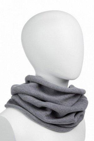 "NORVEG Снуд (шарф ""труба"") unisex, цвет серый меланж, размер one size"