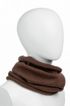 "NORVEG Снуд (шарф ""труба"") unisex, цвет коричневый меланж, размер one size"