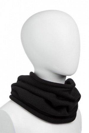 "NORVEG Снуд (шарф ""труба"") unisex, цвет черный, размер one size"