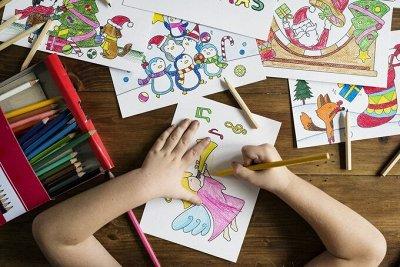 🧸🛍🎈Gerdavlad. Всё для развития ребёнка — Книжки с наклейками, раскраски — Книги для творчества