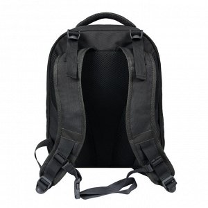 Фаворит рюкзак черный оранж