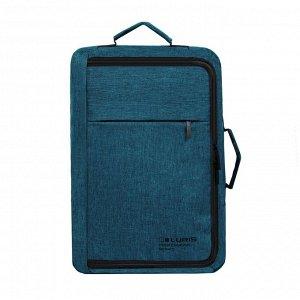 Стоун, сумка - рюкзак для ноутбука зеленый малахит