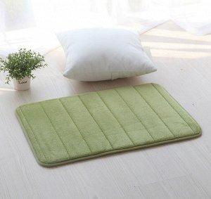 Коврик для ванной с эффектом памяти малый зеленый