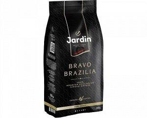 Кофе Жардин зерно Браво Бразилия прем/с. 250г 1/12, шт