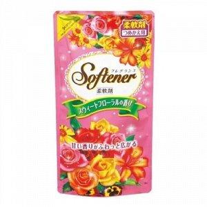 """Кондиционер для белья с нежным ароматом роз Nihon Detergent"""" sweet floral"""