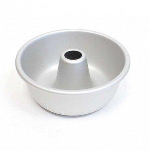 Форма кекс со стержнем гладкая d130/104мм h55мм