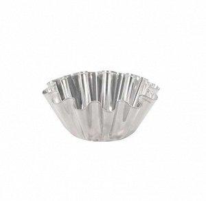 Форма для кекса №1 d86/55мм h33мм нержавеющая сталь