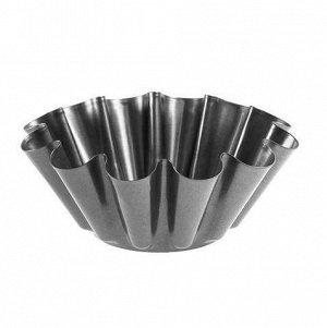 Форма для кекса d230/120мм h80мм сталь