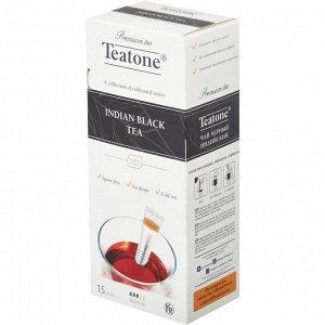 Черный чай  TEATONE 15стик*1.8г