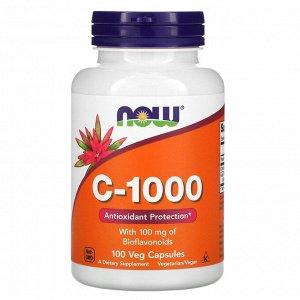 Now Foods, C-1000, 100 растительных капсул