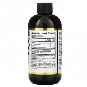 California Gold Nutrition, сироп из европейской черной бузины, 2500 мг, 240 мл (8 жидк. унций)
