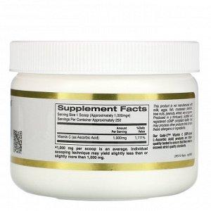 California Gold Nutrition, Gold C Powder, витамин C, 1000 мг, 250 г (8,81 унции)