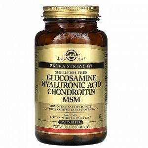 Глюкозамин, гиалуроновая кислота, хондроитин и МСМ