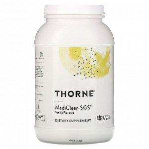 Thorne Research, MediClear-SGS, со вкусом ванили, 978 г (34,4 унции)