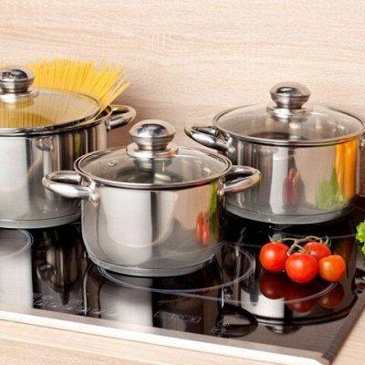 Сковороды чугунные, жаровни, сковороды для подачи — Кастрюли из нержавеющая стали от 2 до 30 литров
