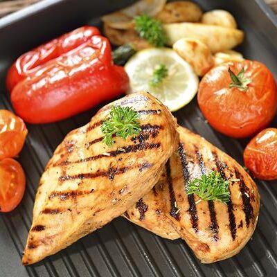 Сковороды чугунные, жаровни, сковороды для подачи — Сковороды-гриль, прессы — Сковороды-гриль