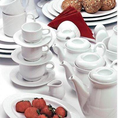 Сковороды чугунные, жаровни, сковороды для подачи — Фарфор из Польши ресторанного уровня — Тарелки