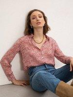 Рубашка с абстрактным принтом B2412/relis