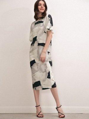 Платье с коротким рукавом PL1099/hanoi