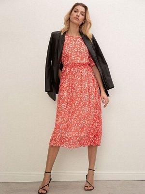 Шифоновое платье с принтом PL1005/cosl