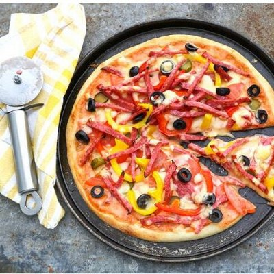 Противни, коврики для выпечки и товары для айсинга — Запекаем пиццу - противни, лопатки, сетки, ролики и ножи — Формы для выпечки