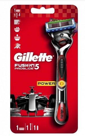 GILLETTE FUSION ProGlide Flexball Power Бритва с 1 смен кассетой (с элементом питания)