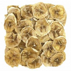 Банан 20 г Состояние: Жесткие, хрустящие Вес в пачке: 20 г Получается из: 125 грамм фруктов  Как использовать: Закуски, мюсли, выпечка  Банановые кольца, высушенные в дегидраторе при температуре +55С.