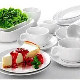 Сковороды чугунные, жаровни, сковороды для подачи — Фарфор и фаянс Эконом — Тарелки