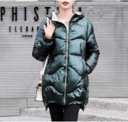 Женская демисезонная куртка темно зеленый