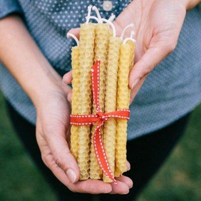 Новинка Медовые свечи с маслом - Марокканская корица — НОВИНКА Программные Свечи Mini — Ароматерапия
