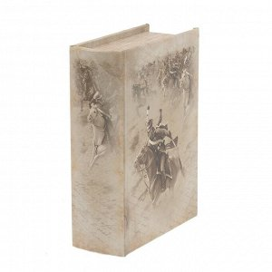 Шкатулка-книга c код.замком, L16 W7 H22 см