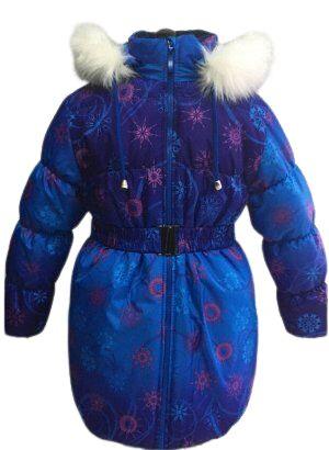 """Пальто зимнее для девочки КЗД-4 """"Алиса"""","""