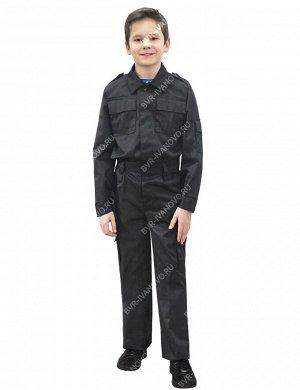 Костюм Патриот детский тк.Смесовая цв.Чёрный