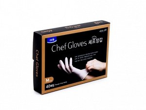Перчатки нитриловые гипоаллергенные Chef Gloves Clean Wrap (40 шт.)