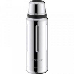 Термос вакуумный Bobber Flask-1000 Glossy нерж сталь узкое горло объём 1,0 л