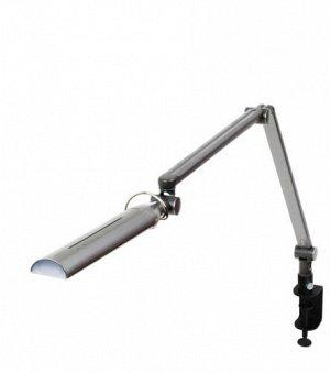 Профессиональный светодиодный светильник на струбцине Diasonic DL-120PH (серебристый)