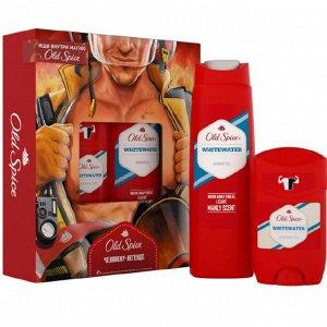 Подарочный набор OLD SPICE Твердый дезодорант WhiteWater 50мл + Гель для душа WhiteWater 250мл