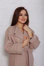 Пальто женское демисезонное 20110 (латте)