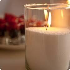 Воск для насыпных свечей цвет молоко 500 г