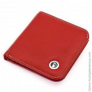 Красный Маленький женский кожаный кошелек Sergio Valentini СВ 8093-503