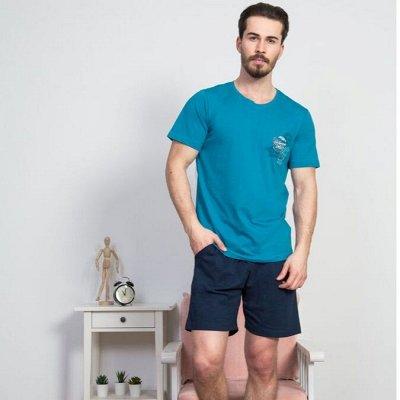 VIENETTA/Турция — Супер ассортимент от 250 руб — Мужские комплекты с шортами и капри — Пижамы