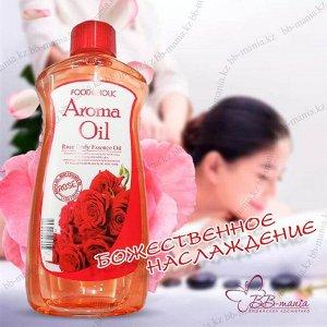 FOODAHOLIC Аромамасло для тела с экстрактом розы, 465 мл AROMA OIL ROSE, 465 ml