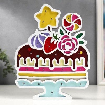 Празднуем День рождения! — Ночники — Аксессуары для детских праздников