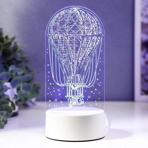 "Светильник ""Воздушный шар"" LED RGB от сети 9,5х9,5х21 см"