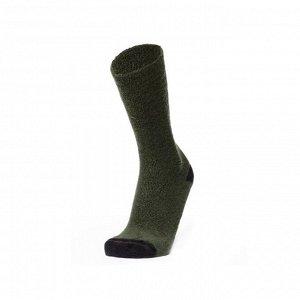 Носки  Thermo3, цвет: коричневый, зеленый