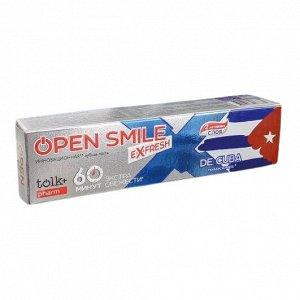 Инновационная зубная паста TOLK Open Smile eXfresh CUBA 115 гр.