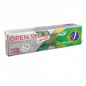 Инновационная зубная паста TOLK Open Smile eXfresh BRASIL 115 гр