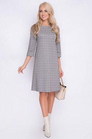 Офисное платье на 48 размер. Россия. Хорошая длина. Достойное качество